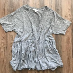 Truly Madly Deeply V-Neck Babydoll Tee